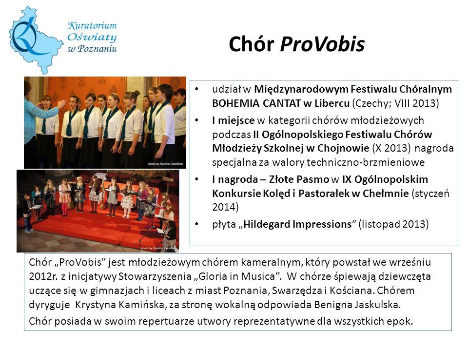 Chór ProVobis udział w Międzynarodowym Festiwalu Chóralnym BOHEMIA CANTAT w Libercu (Czechy; VIII 2013)