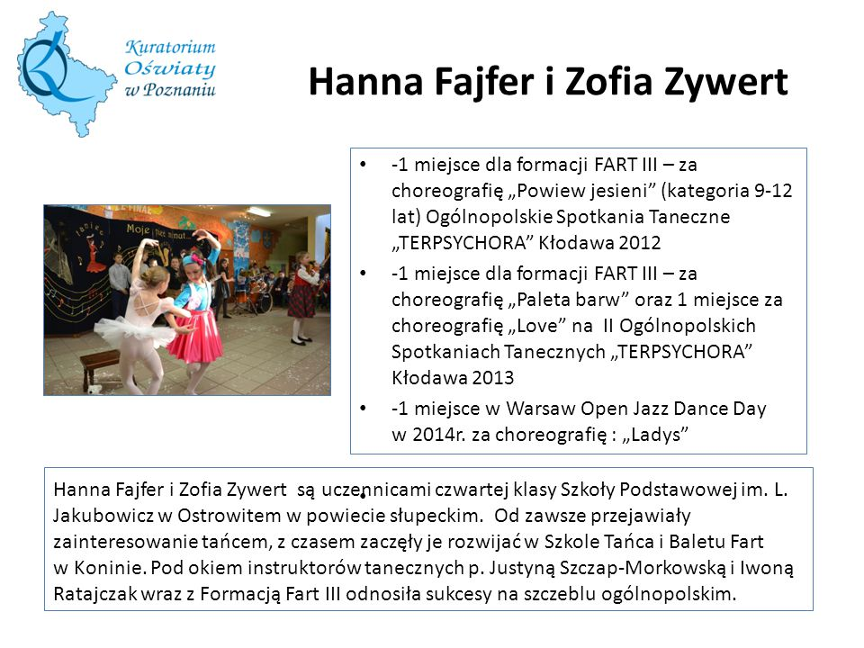 Hanna Fajfer i Zofia Zywert