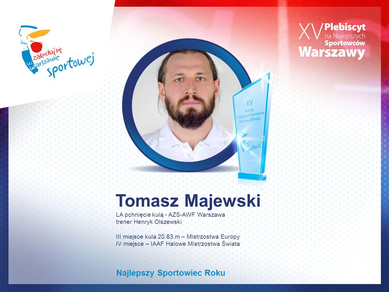 Tomasz Majewski Najlepszy Sportowiec Roku
