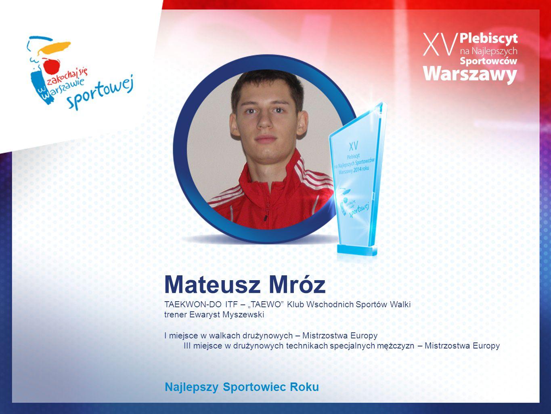 Mateusz Mróz Najlepszy Sportowiec Roku