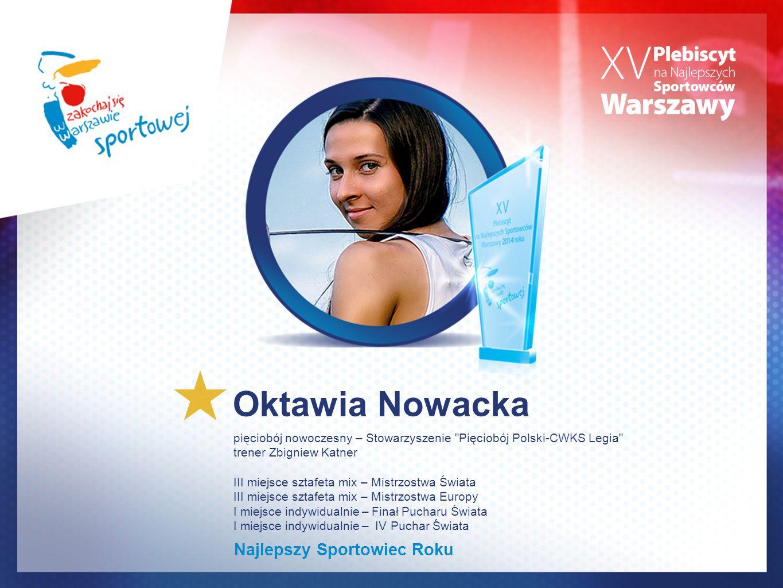 Oktawia Nowacka Najlepszy Sportowiec Roku