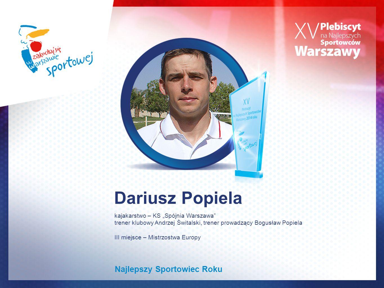 Dariusz Popiela Najlepszy Sportowiec Roku