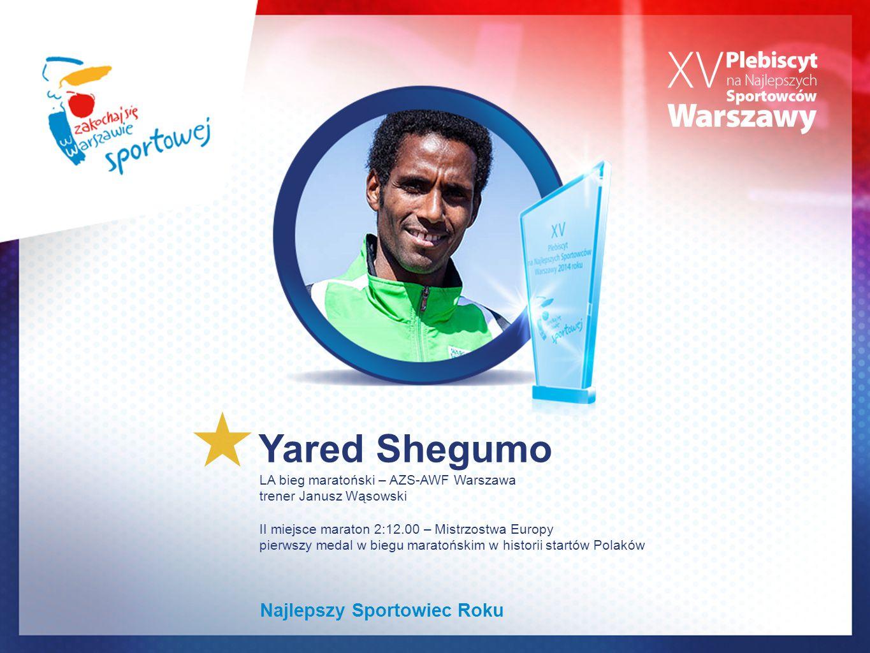 Yared Shegumo Najlepszy Sportowiec Roku