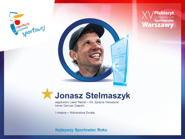 Jonasz Stelmaszyk Najlepszy Sportowiec Roku