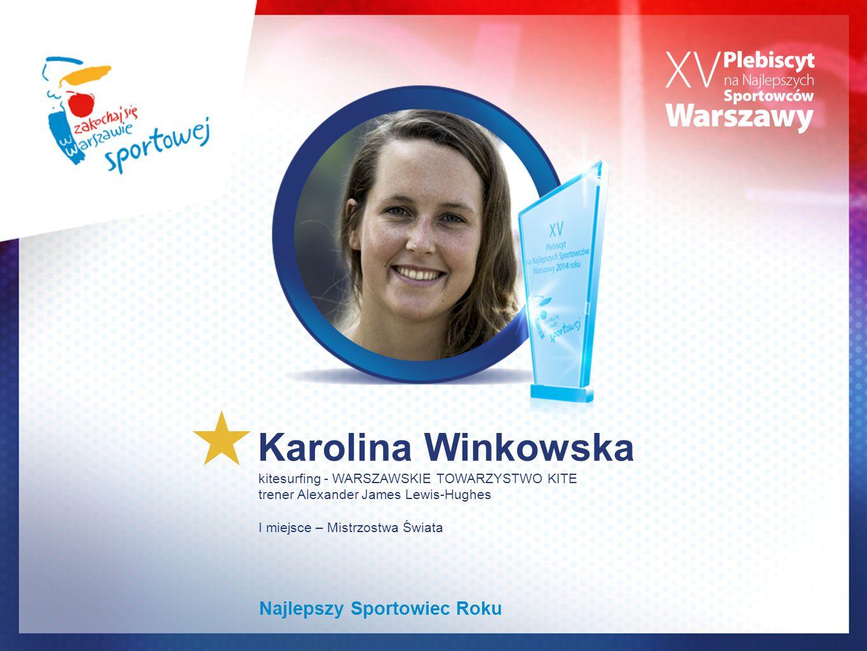 Karolina Winkowska Najlepszy Sportowiec Roku