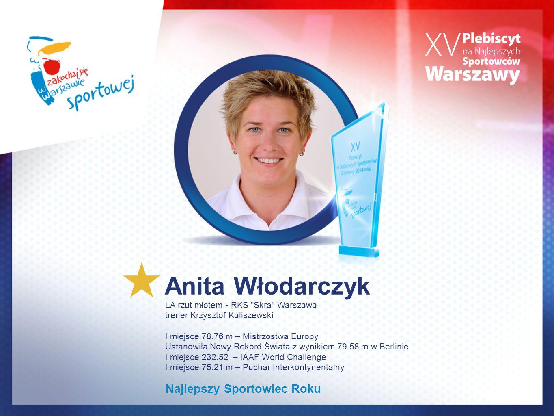 Anita Włodarczyk Najlepszy Sportowiec Roku