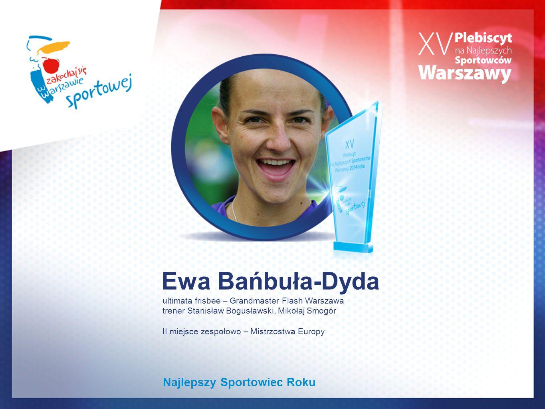 Ewa Bańbuła-Dyda Najlepszy Sportowiec Roku