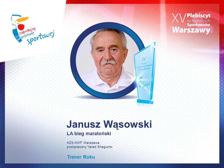Janusz Wąsowski LA bieg maratoński Trener Roku AZS-AWF Warszawa