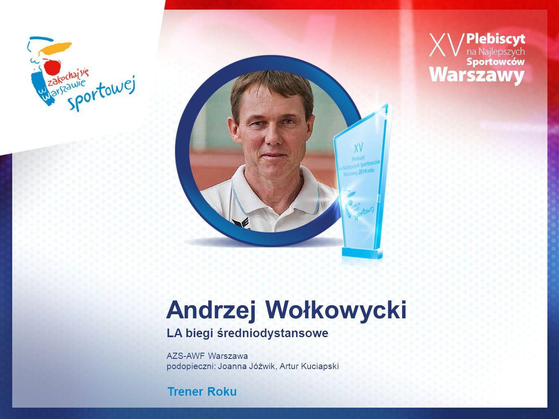 Andrzej Wołkowycki LA biegi średniodystansowe Trener Roku