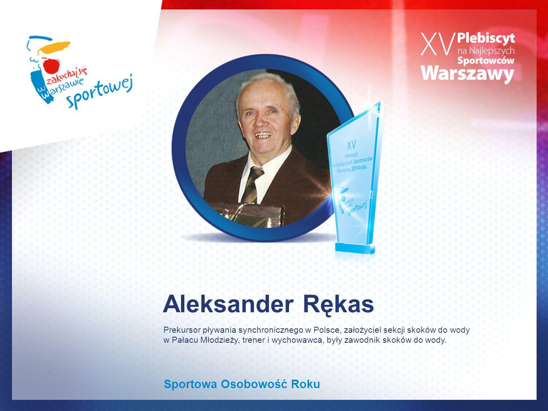 Aleksander Rękas Sportowa Osobowość Roku