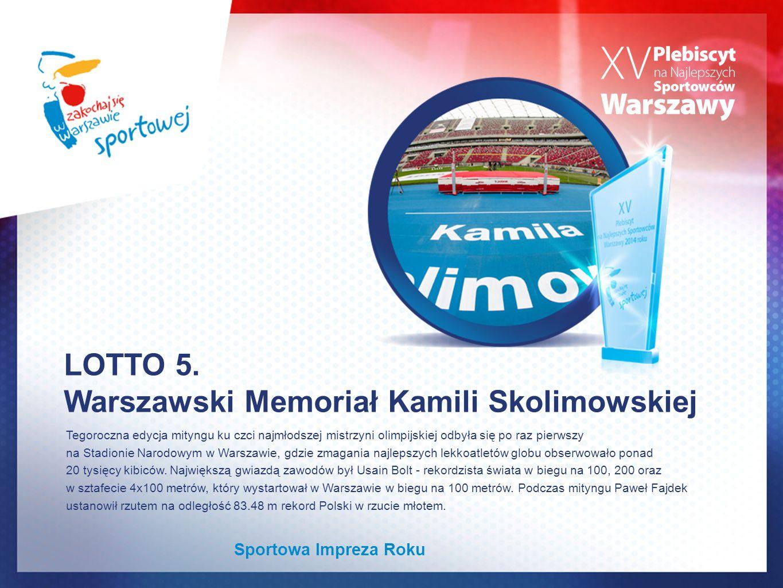 Warszawski Memoriał Kamili Skolimowskiej