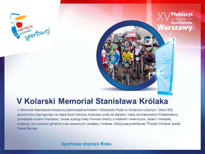 V Kolarski Memoriał Stanisława Królaka