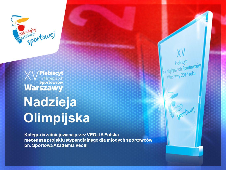 Nadzieja Olimpijska Kategoria zainicjowana przez VEOLIA Polska