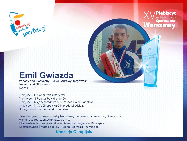 Emil Gwiazda Nadzieja Olimpijska
