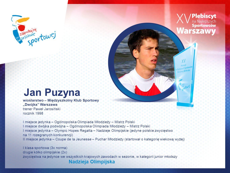 Jan Puzyna Nadzieja Olimpijska