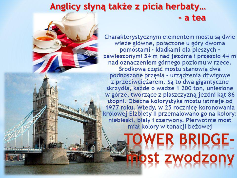 TOWER BRIDGE- most zwodzony
