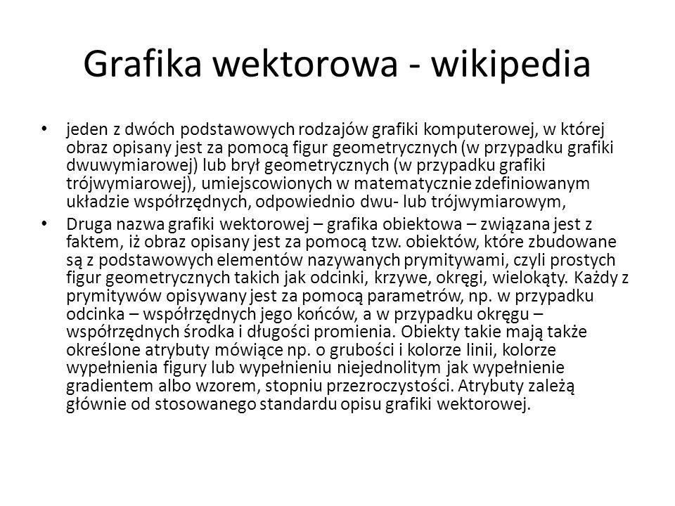 Grafika wektorowa - wikipedia