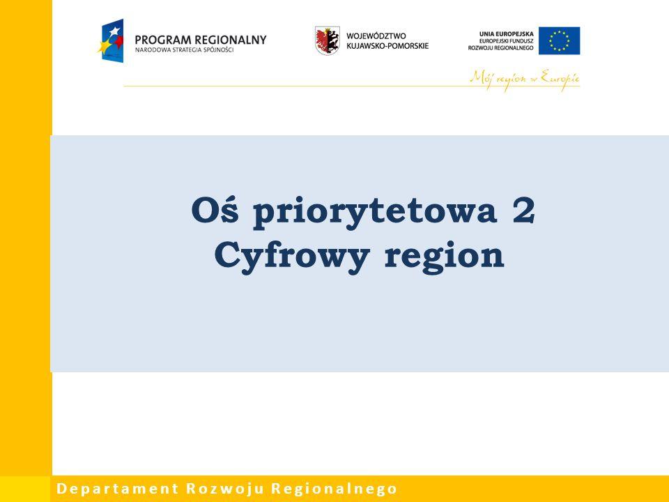 Oś priorytetowa 2 Cyfrowy region