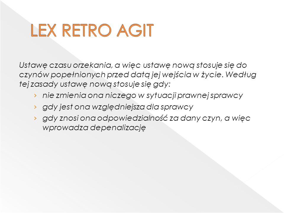 LEX RETRO AGIT