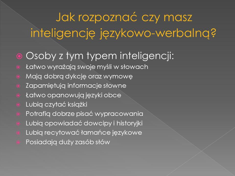 Jak rozpoznać czy masz inteligencję językowo-werbalną