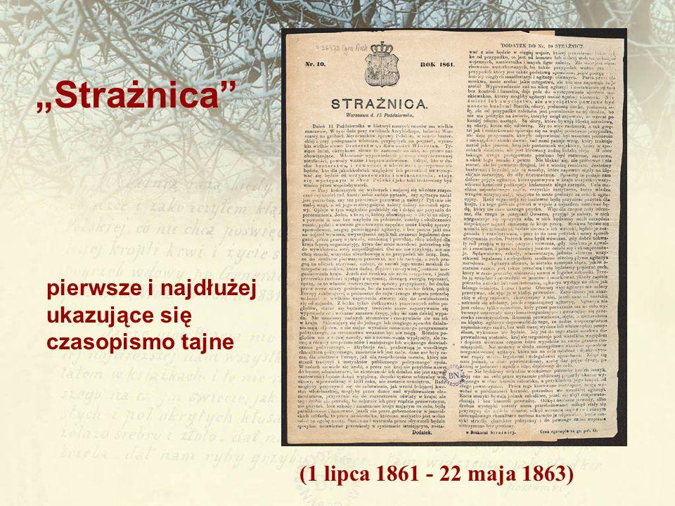 """""""Strażnica pierwsze i najdłużej ukazujące się czasopismo tajne"""