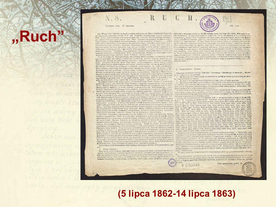 """Ruch (5 lipca 1862-14 lipca 1863)"