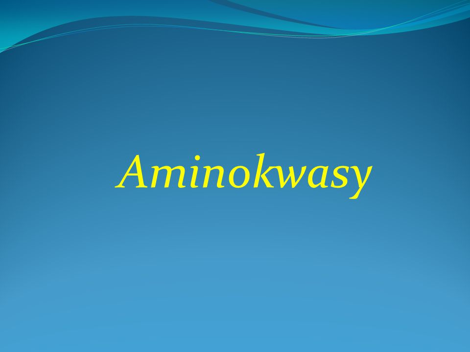 Aminokwasy