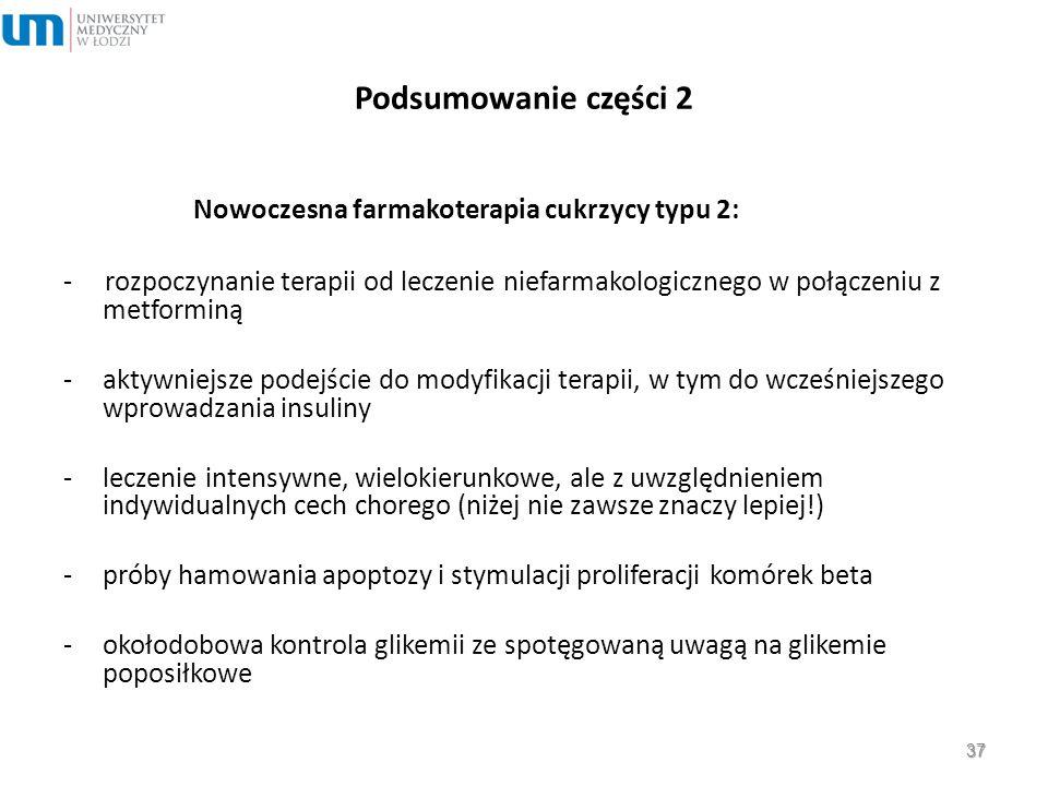 Nowoczesna farmakoterapia cukrzycy typu 2: