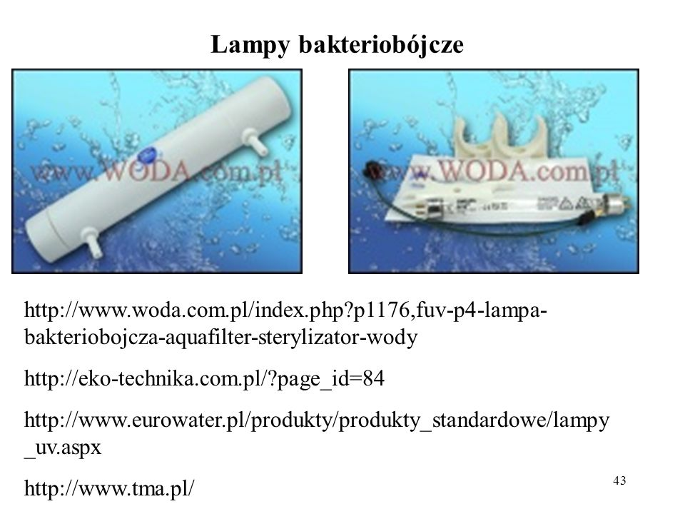 Lampy bakteriobójcze http://www.woda.com.pl/index.php p1176,fuv-p4-lampa-bakteriobojcza-aquafilter-sterylizator-wody.