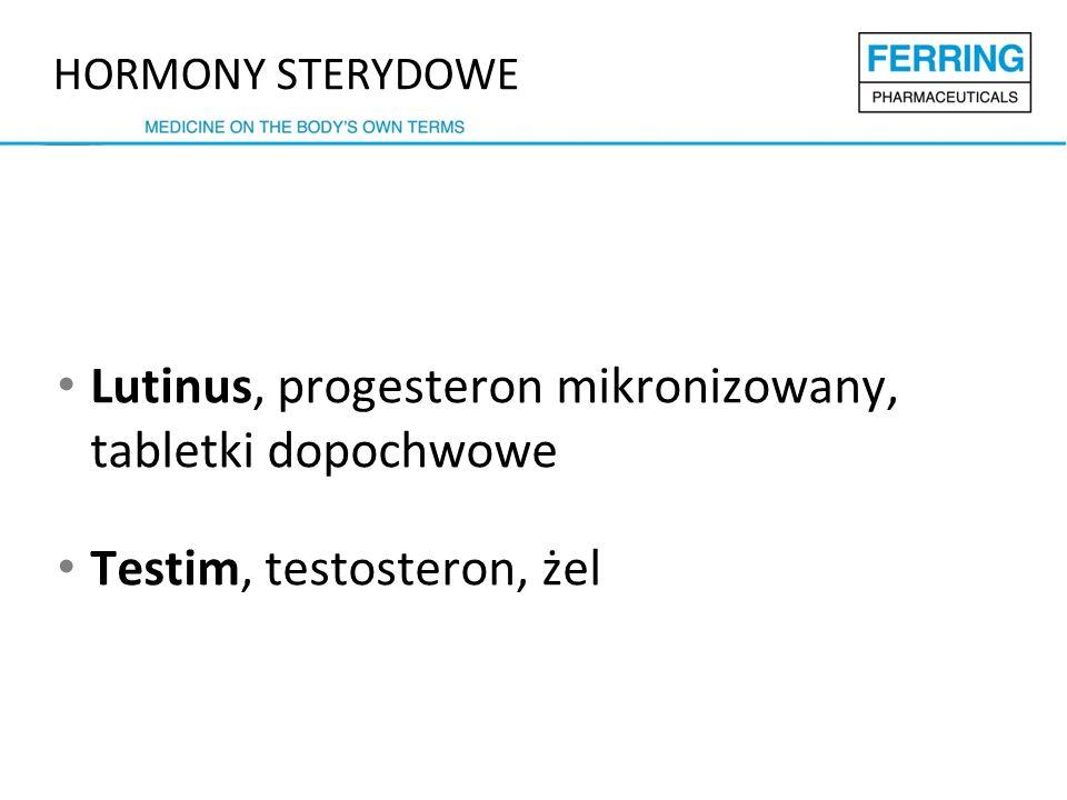 Lutinus, progesteron mikronizowany, tabletki dopochwowe