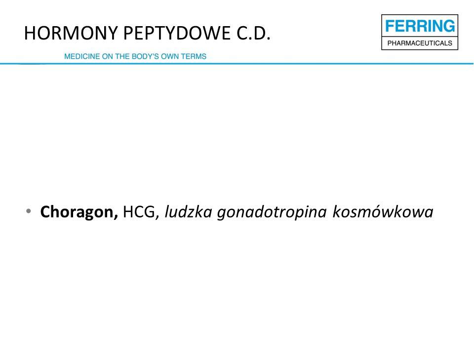 HORMONY PEPTYDOWE C.D. Choragon, HCG, ludzka gonadotropina kosmówkowa