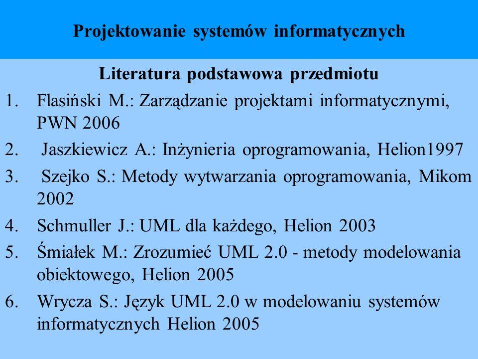 Projektowanie systemów informatycznych