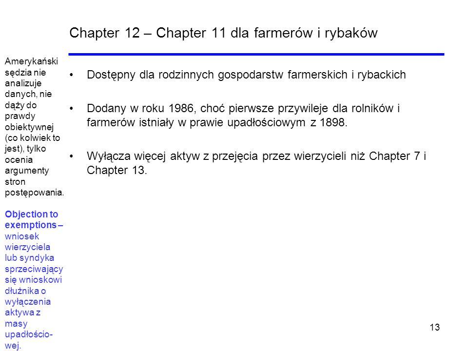 Chapter 12 – Chapter 11 dla farmerów i rybaków