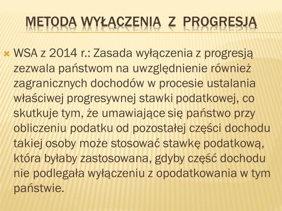 Metoda wyłączenia z progresją