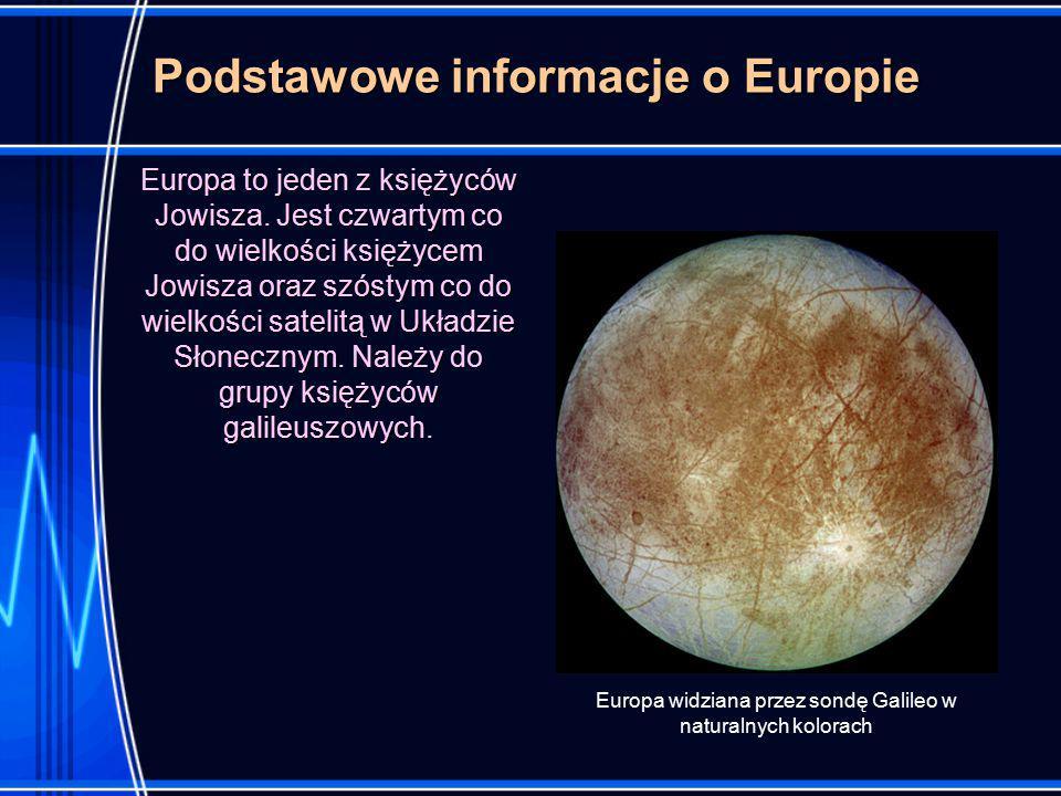 Podstawowe informacje o Europie