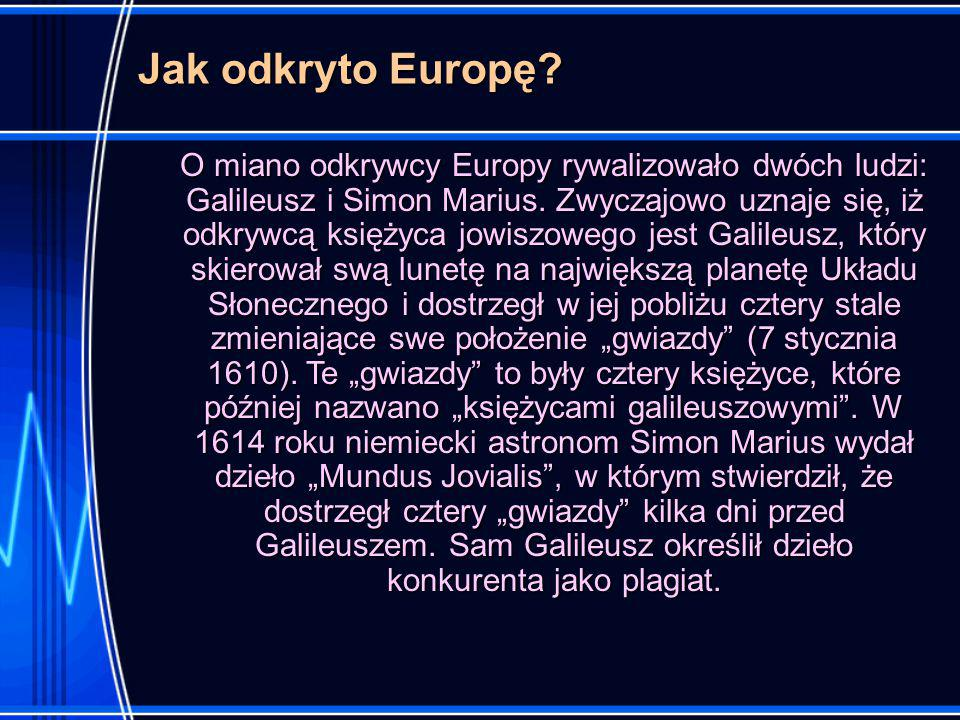 Jak odkryto Europę