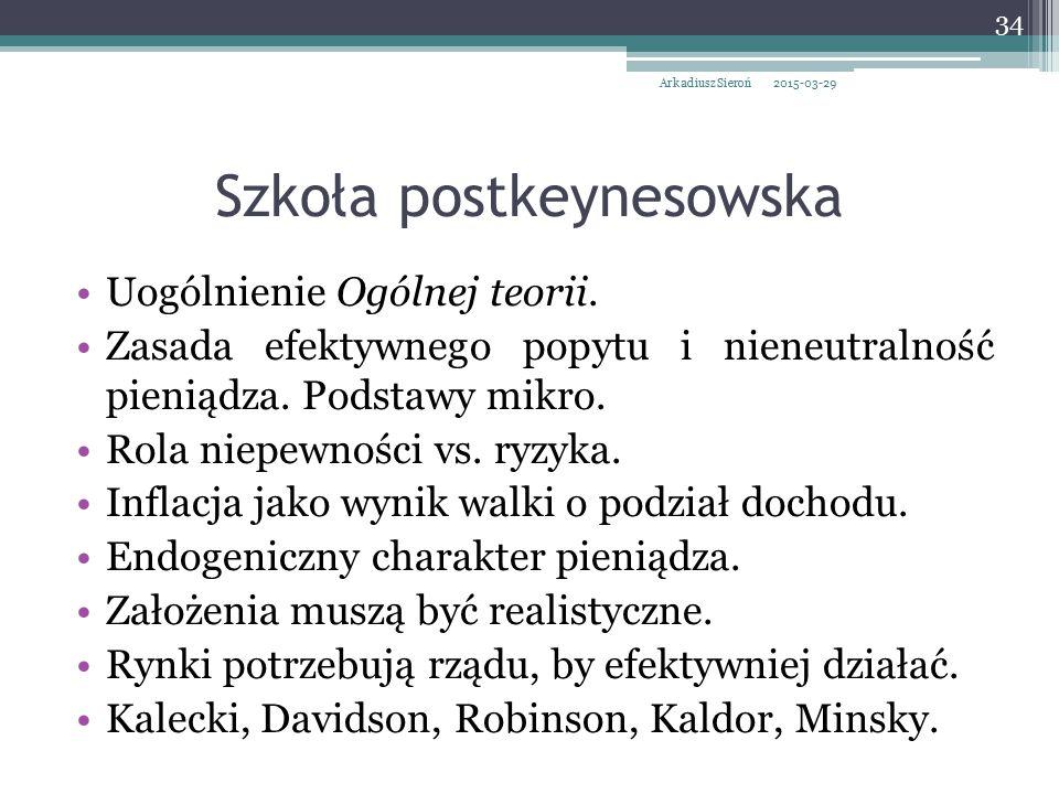 Szkoła postkeynesowska