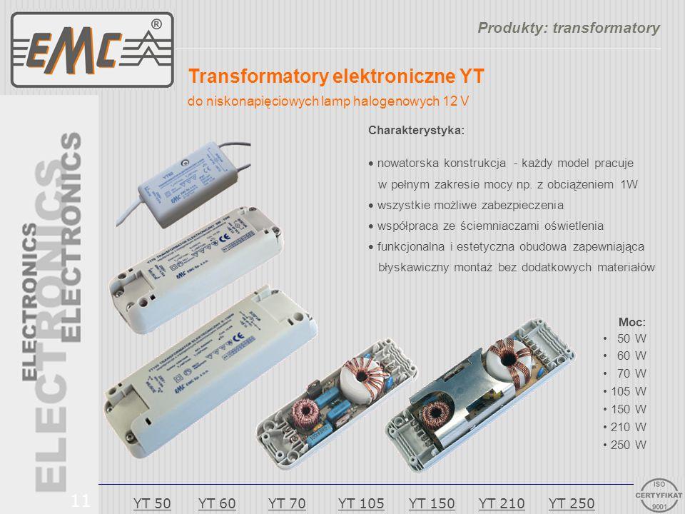 Produkty: transformatory