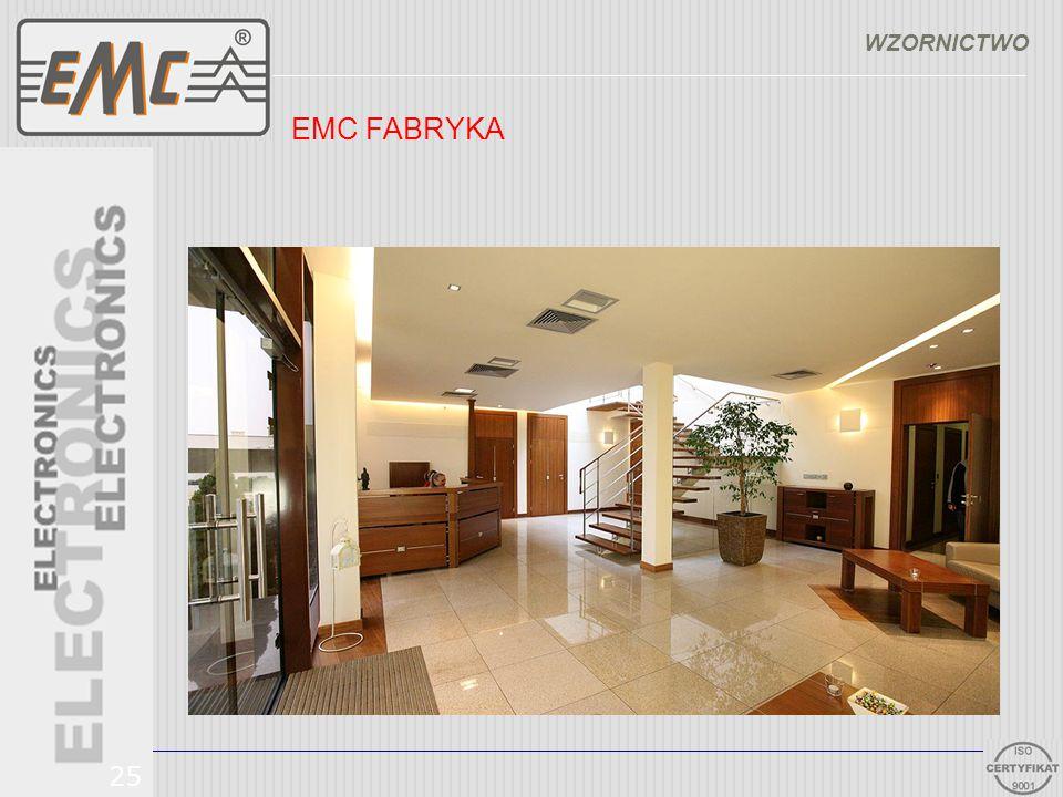 WZORNICTWO EMC FABRYKA 25