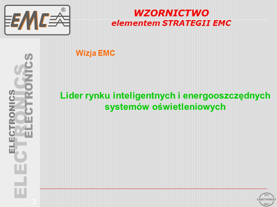 elementem STRATEGII EMC