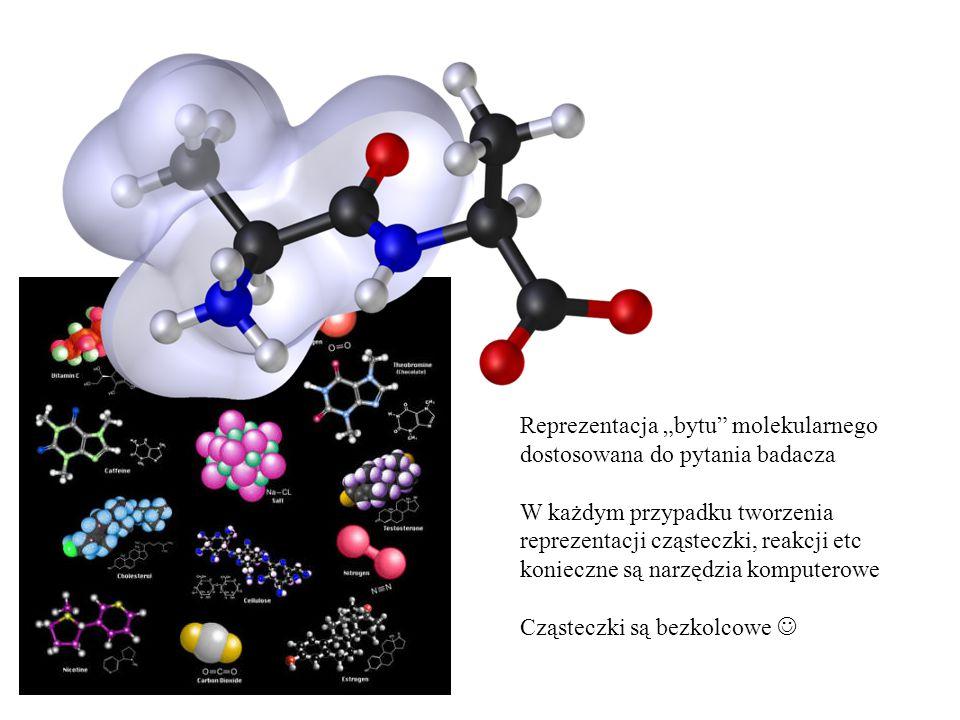 "Reprezentacja ""bytu molekularnego"