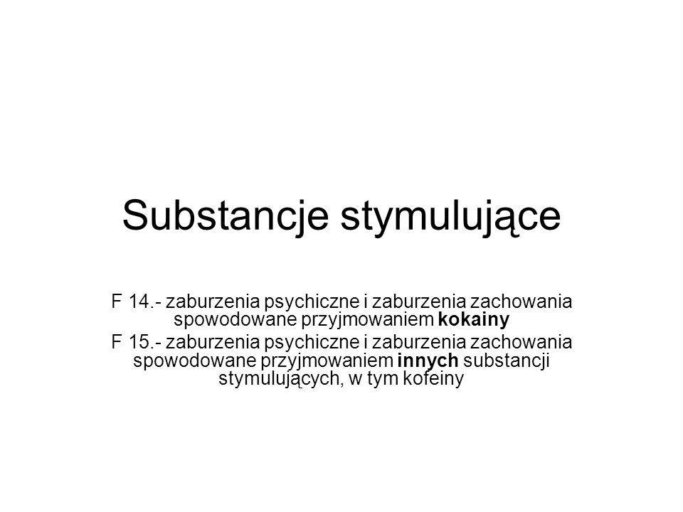 Substancje stymulujące