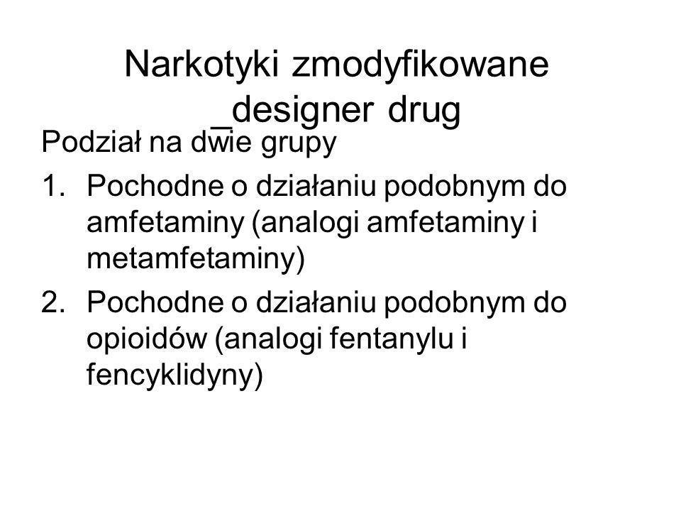 Narkotyki zmodyfikowane _designer drug