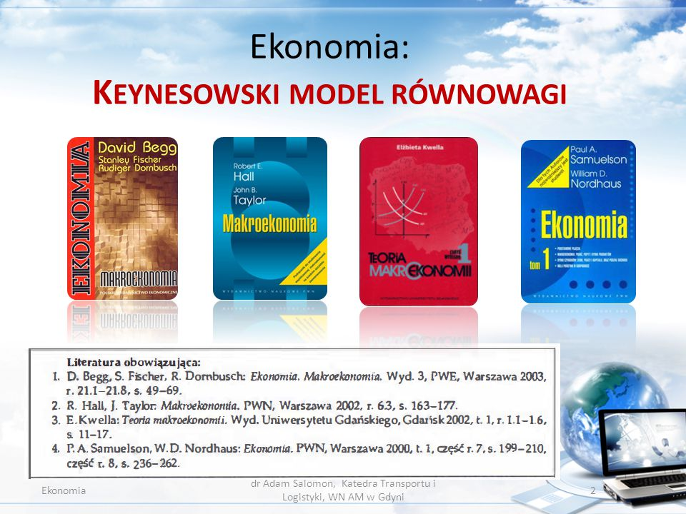 Ekonomia: Keynesowski model równowagi
