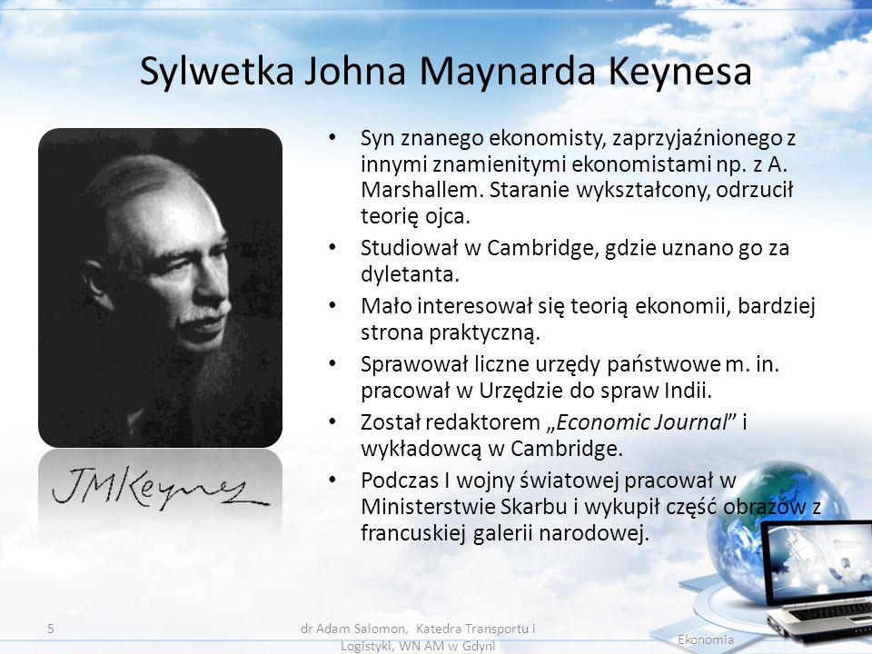 Sylwetka Johna Maynarda Keynesa