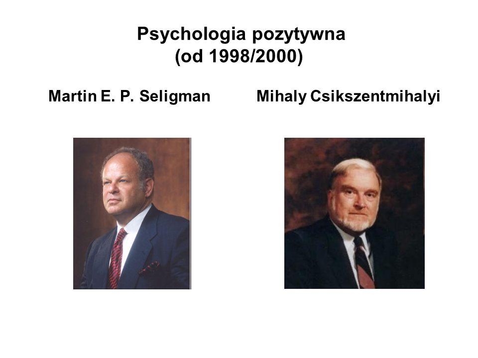 Psychologia pozytywna (od 1998/2000)
