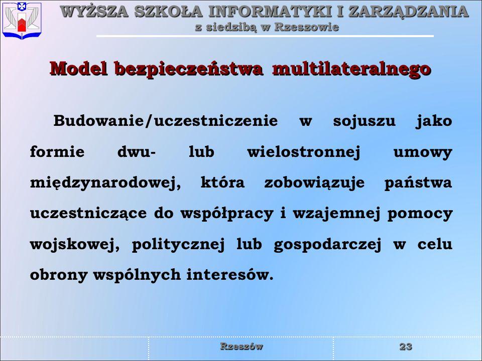 Model bezpieczeństwa multilateralnego