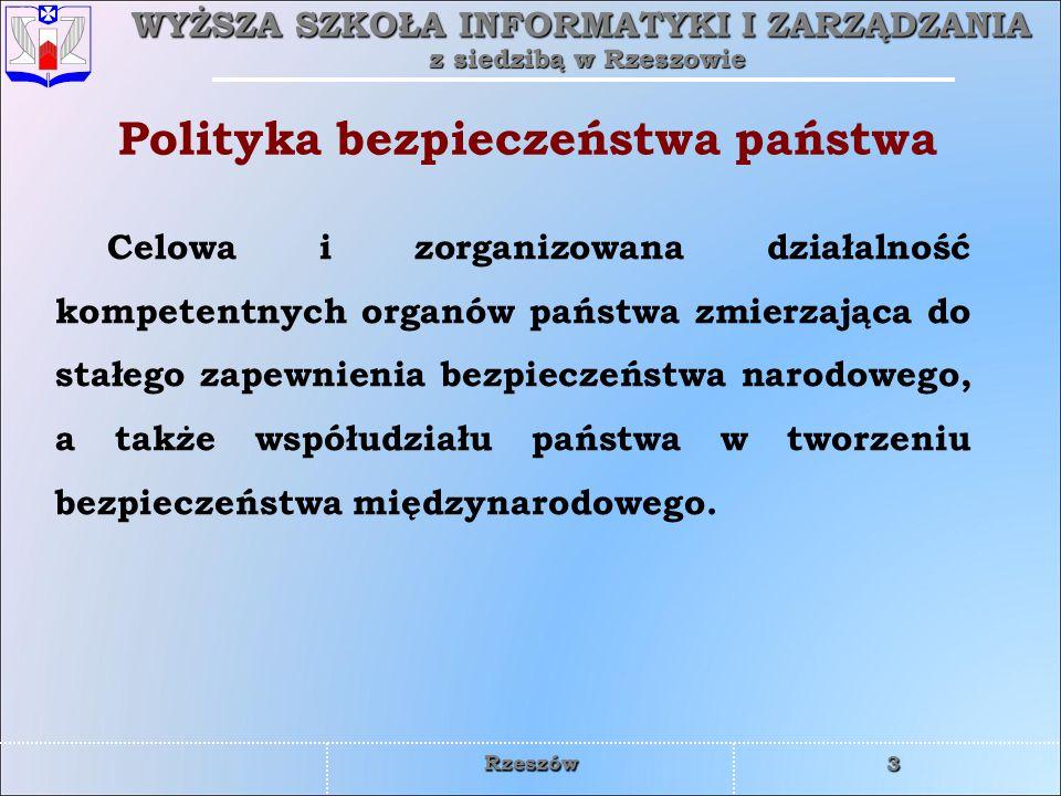 Polityka bezpieczeństwa państwa