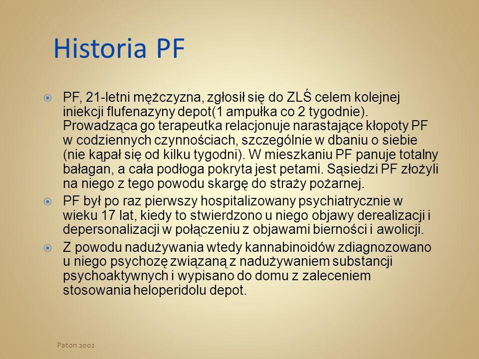 Historia PF