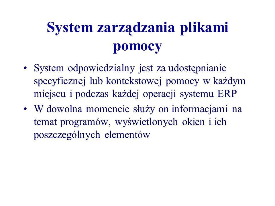 System zarządzania plikami pomocy